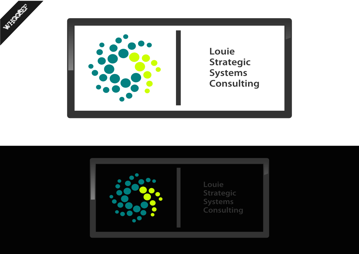 Logo Design by whoosef - Entry No. 166 in the Logo Design Contest Artistic Logo Design for Louie Strategic Systems Consulting.