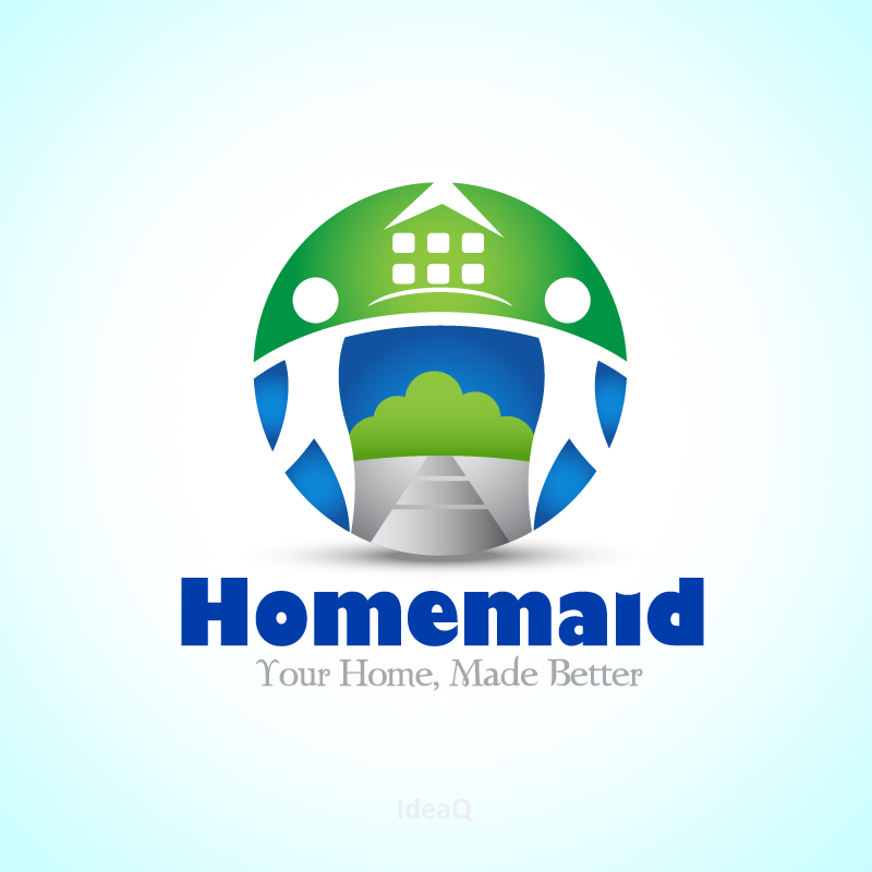 Logo Design by Private User - Entry No. 5 in the Logo Design Contest Unique Logo Design Wanted for HomeMaid.