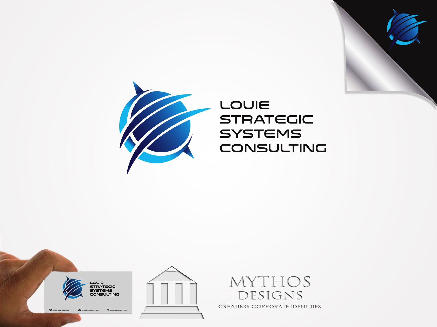 Logo Design by Mythos Designs - Entry No. 168 in the Logo Design Contest Artistic Logo Design for Louie Strategic Systems Consulting.