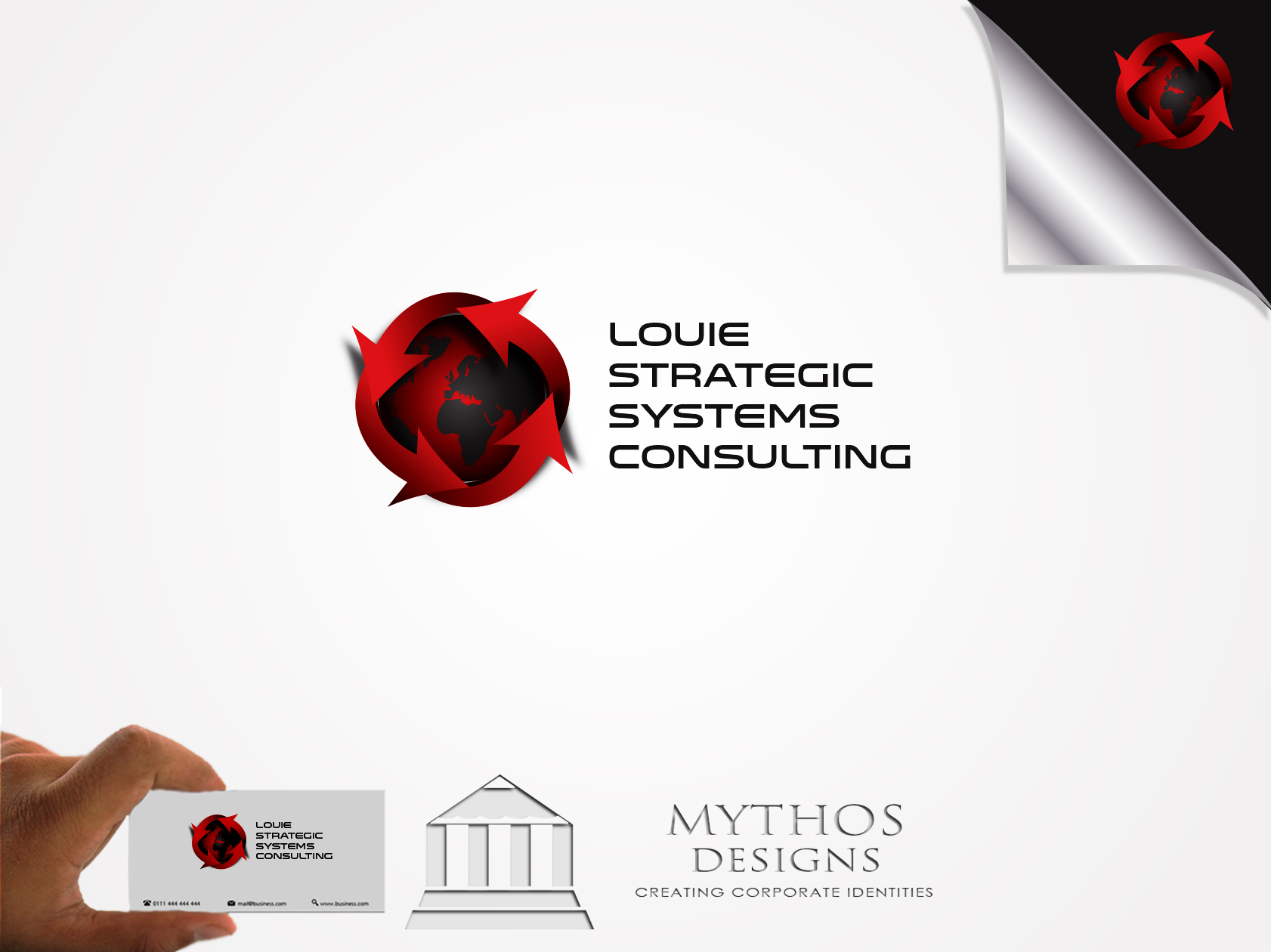 Logo Design by Mythos Designs - Entry No. 169 in the Logo Design Contest Artistic Logo Design for Louie Strategic Systems Consulting.
