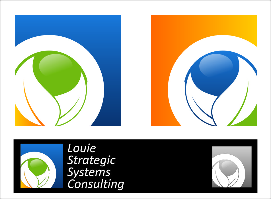 Logo Design by RasYa Muhammad Athaya - Entry No. 174 in the Logo Design Contest Artistic Logo Design for Louie Strategic Systems Consulting.