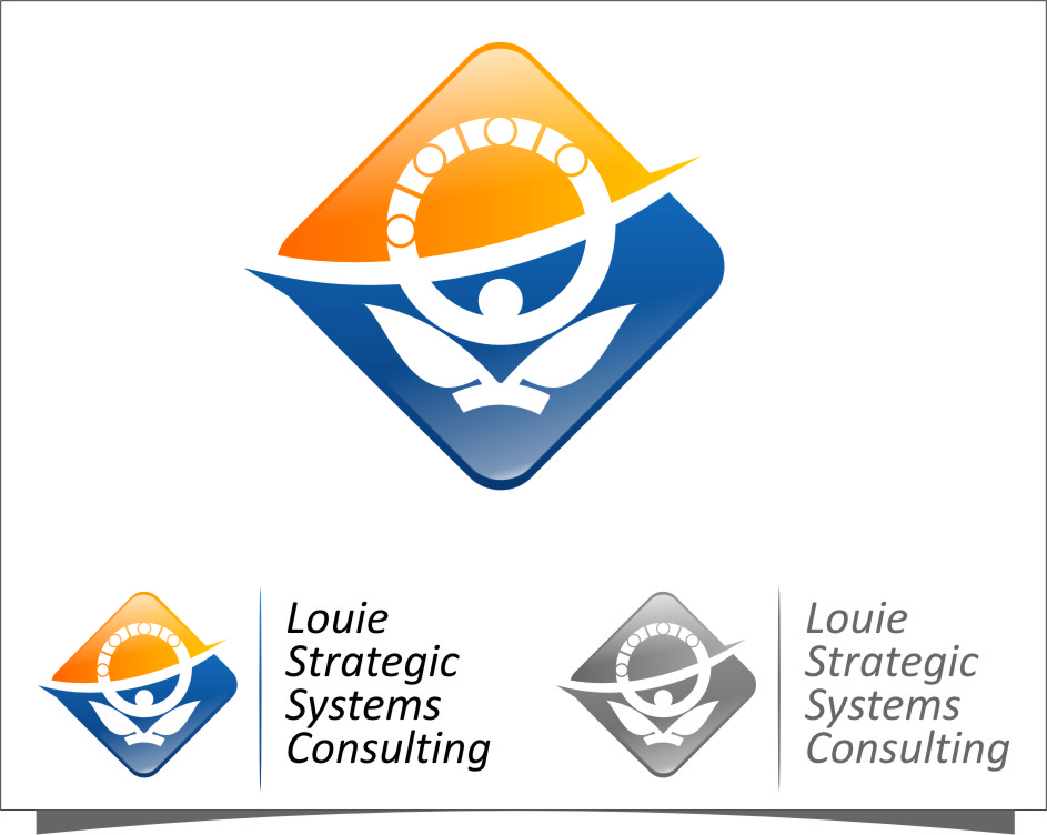 Logo Design by Ngepet_art - Entry No. 177 in the Logo Design Contest Artistic Logo Design for Louie Strategic Systems Consulting.