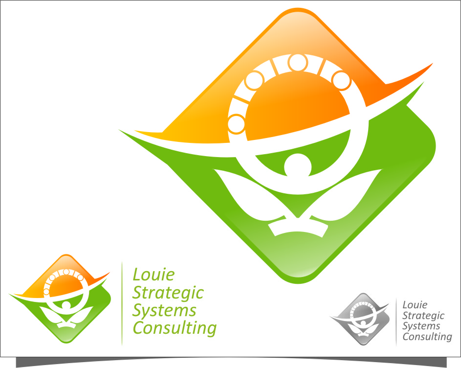 Logo Design by RasYa Muhammad Athaya - Entry No. 178 in the Logo Design Contest Artistic Logo Design for Louie Strategic Systems Consulting.