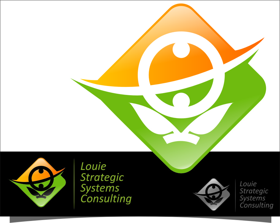 Logo Design by RasYa Muhammad Athaya - Entry No. 183 in the Logo Design Contest Artistic Logo Design for Louie Strategic Systems Consulting.