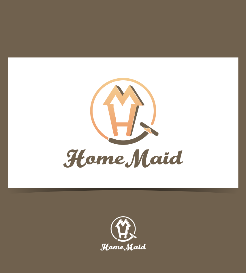 Logo Design by graphicleaf - Entry No. 7 in the Logo Design Contest Unique Logo Design Wanted for HomeMaid.