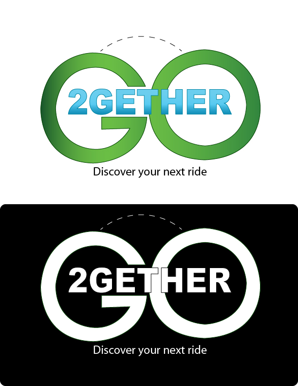 Logo Design by mediaproductionart - Entry No. 64 in the Logo Design Contest Captivating Logo Design for GO2GETHER.