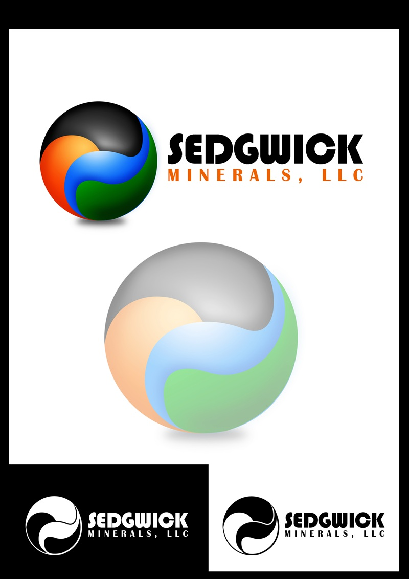 Logo Design by Respati Himawan - Entry No. 14 in the Logo Design Contest Inspiring Logo Design for Sedgwick Minerals, LLC.