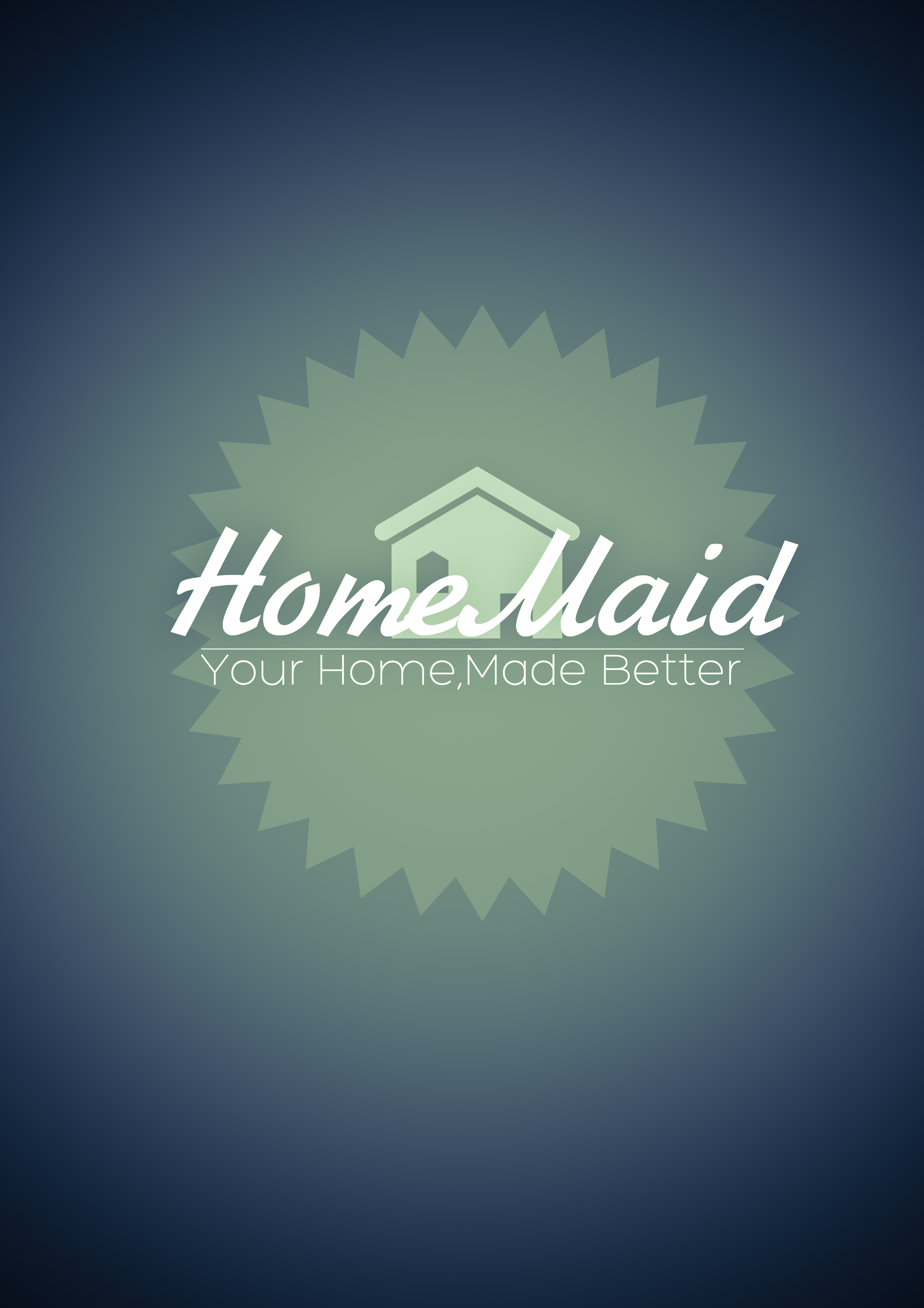 Logo Design by Ruslan Onopko - Entry No. 8 in the Logo Design Contest Unique Logo Design Wanted for HomeMaid.