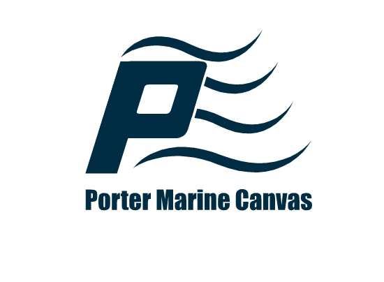 Logo Design by Ismail Adhi Wibowo - Entry No. 22 in the Logo Design Contest Imaginative Logo Design for Porter Marine Canvas.