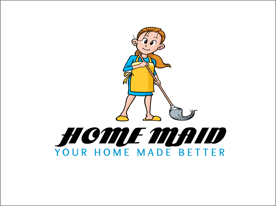 Logo Design by Sri Lata - Entry No. 10 in the Logo Design Contest Unique Logo Design Wanted for HomeMaid.