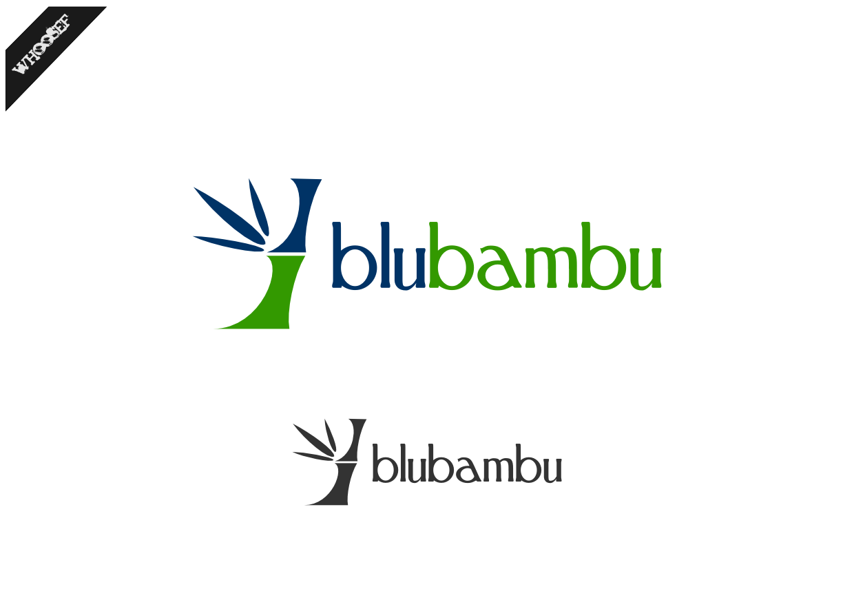 Logo Design by whoosef - Entry No. 61 in the Logo Design Contest New Logo Design for blubambu.