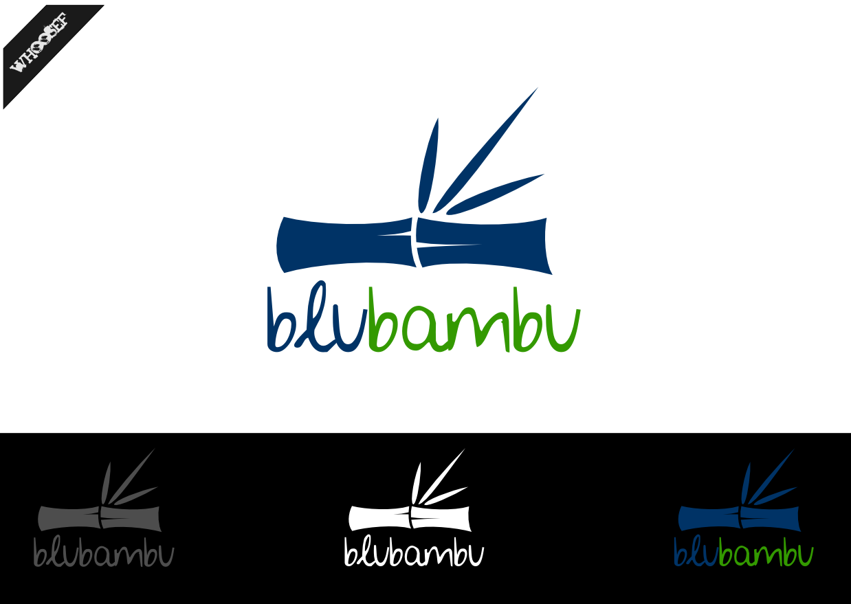 Logo Design by whoosef - Entry No. 62 in the Logo Design Contest New Logo Design for blubambu.