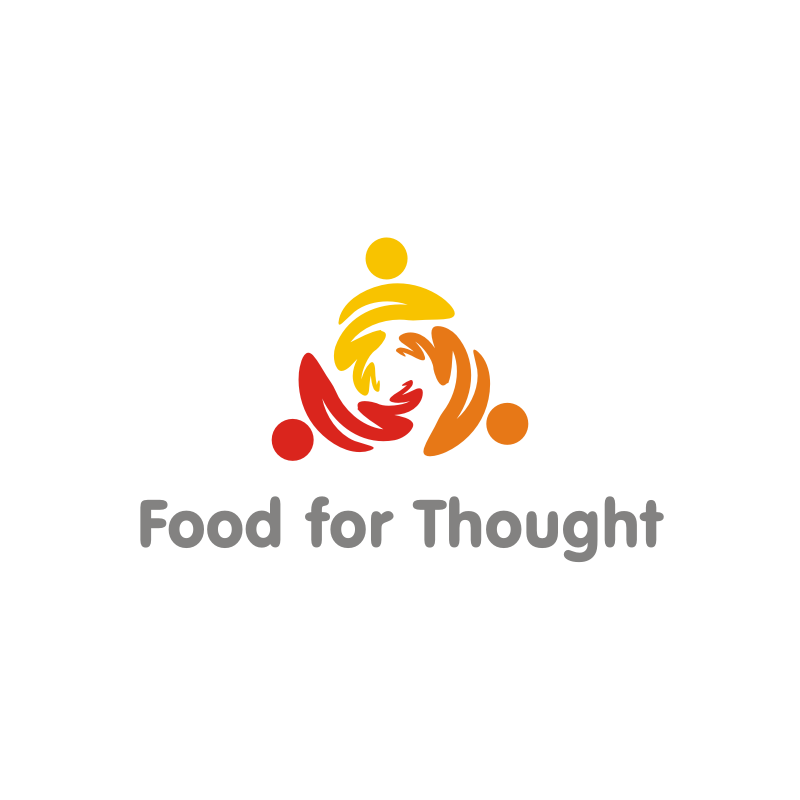 Logo Design by asti - Entry No. 48 in the Logo Design Contest Food for Thought -Partners include SUCCESS, BC Healthy Commu.