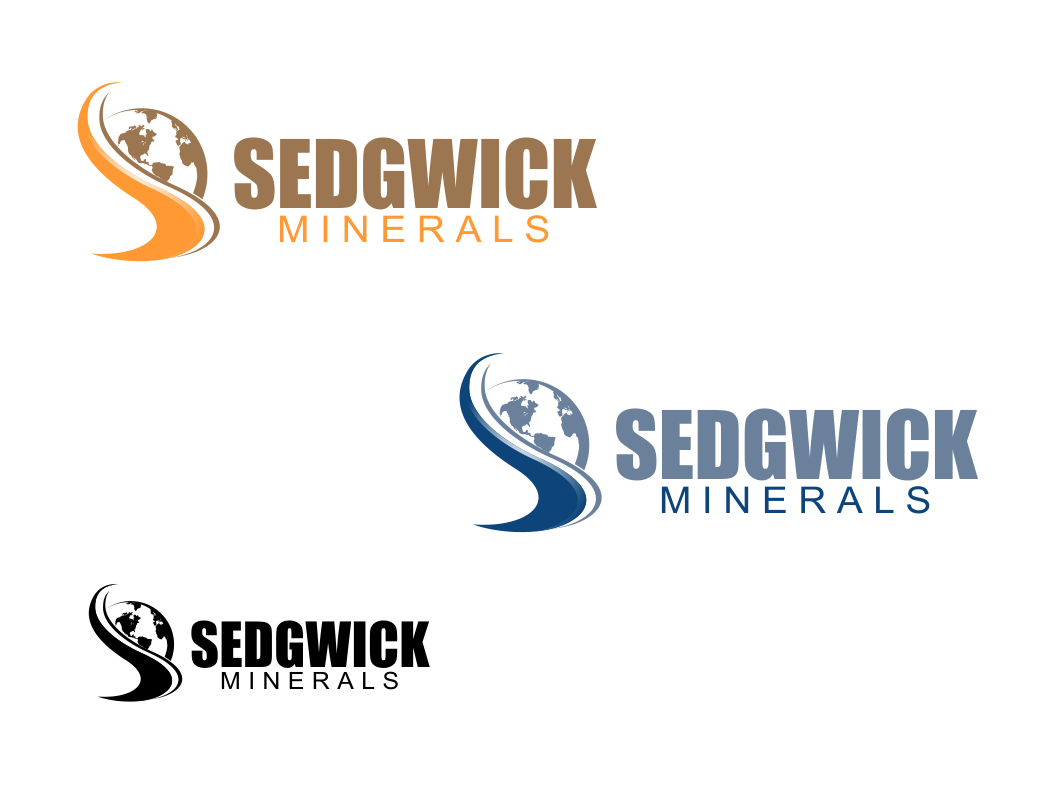 Logo Design by Chris Frederickson - Entry No. 24 in the Logo Design Contest Inspiring Logo Design for Sedgwick Minerals, LLC.