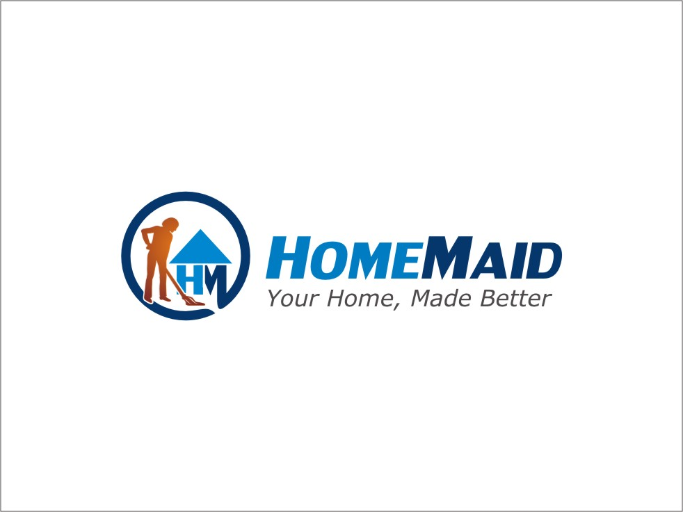 Logo Design by RED HORSE design studio - Entry No. 13 in the Logo Design Contest Unique Logo Design Wanted for HomeMaid.
