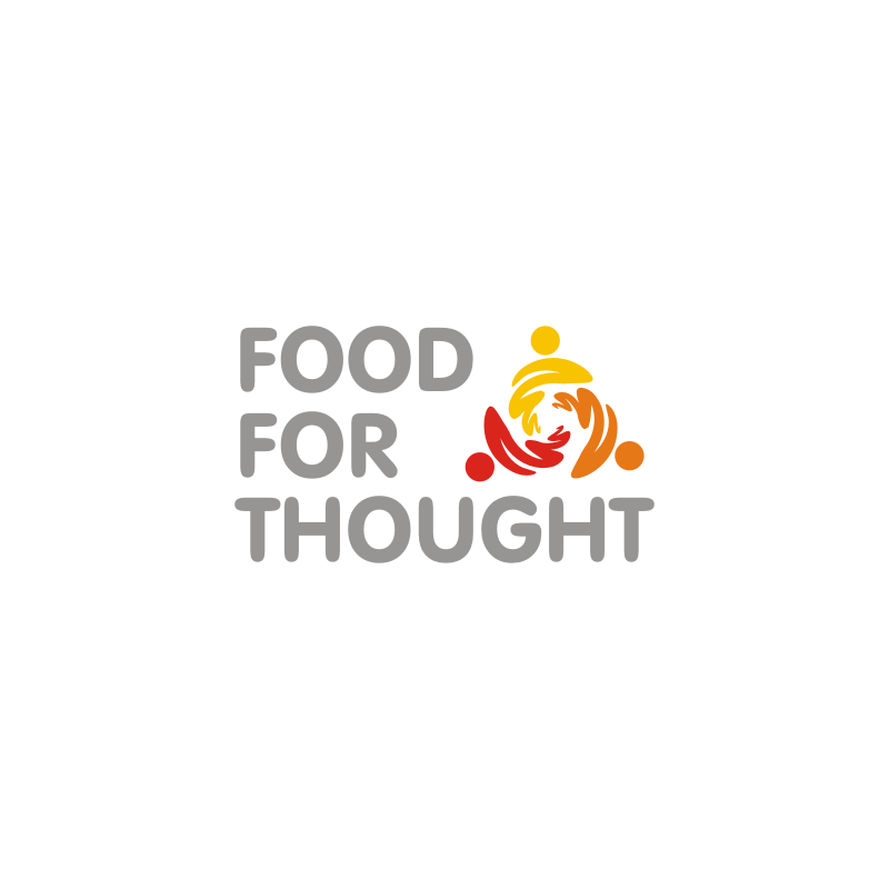 Logo Design by asti - Entry No. 49 in the Logo Design Contest Food for Thought -Partners include SUCCESS, BC Healthy Commu.