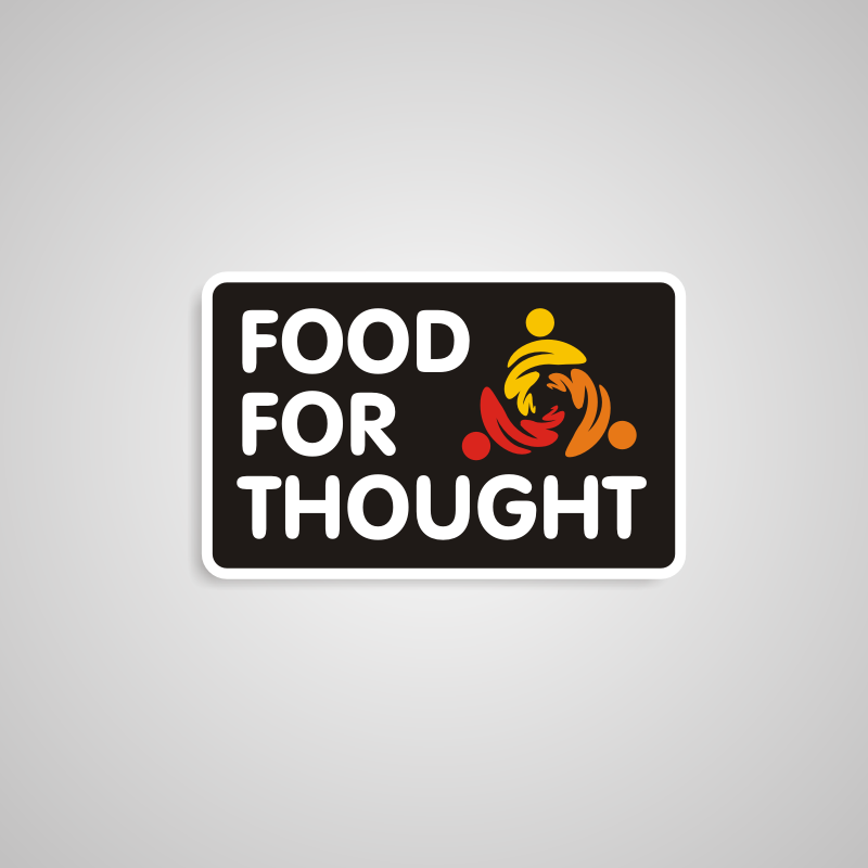 Logo Design by asti - Entry No. 50 in the Logo Design Contest Food for Thought -Partners include SUCCESS, BC Healthy Commu.