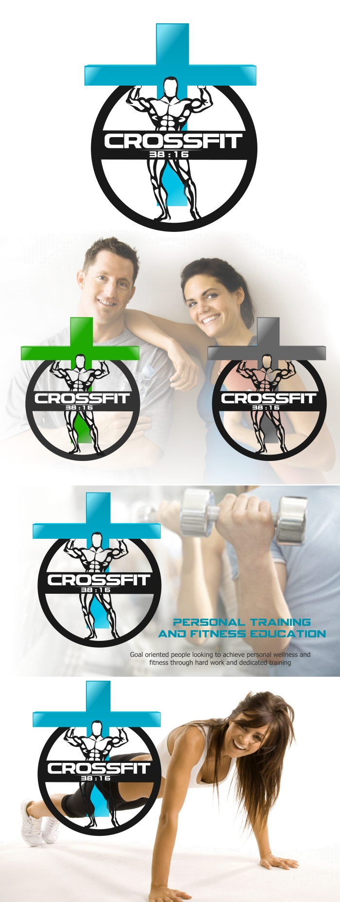 Logo Design by Private User - Entry No. 36 in the Logo Design Contest Fun Logo Design for Personal Trainer.