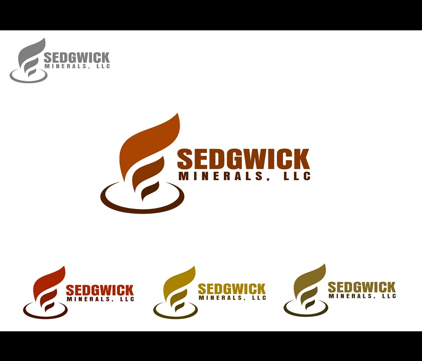 Logo Design by Respati Himawan - Entry No. 26 in the Logo Design Contest Inspiring Logo Design for Sedgwick Minerals, LLC.