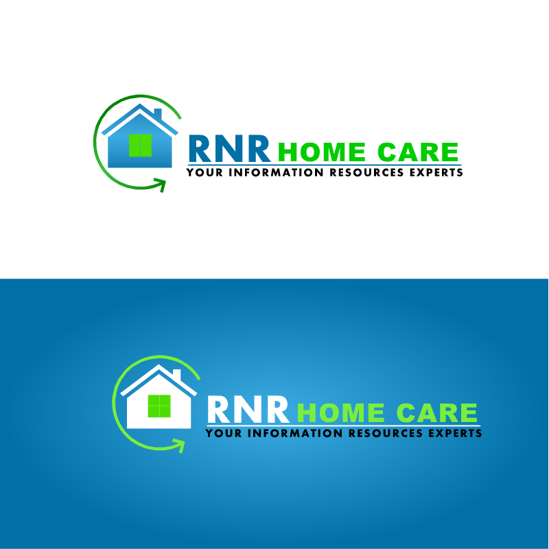 Logo Design by RAJU CHATTERJEE - Entry No. 3 in the Logo Design Contest Imaginative Logo Design for RNR HomeCare.