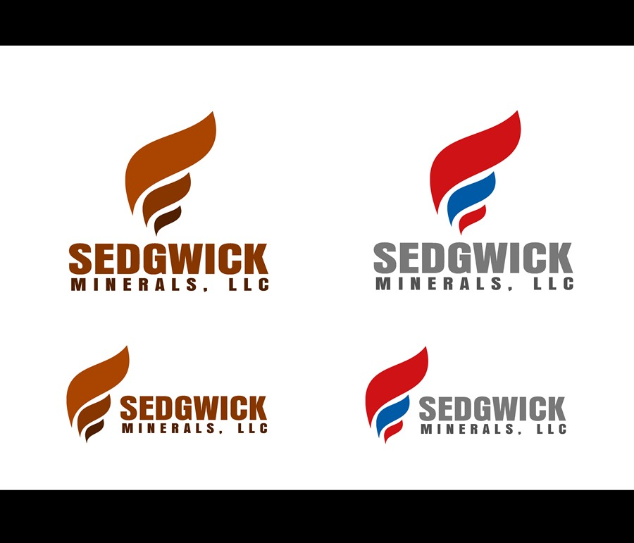 Logo Design by Respati Himawan - Entry No. 27 in the Logo Design Contest Inspiring Logo Design for Sedgwick Minerals, LLC.
