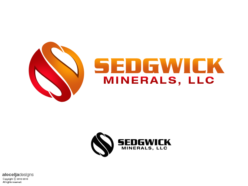 Logo Design by alocelja - Entry No. 28 in the Logo Design Contest Inspiring Logo Design for Sedgwick Minerals, LLC.