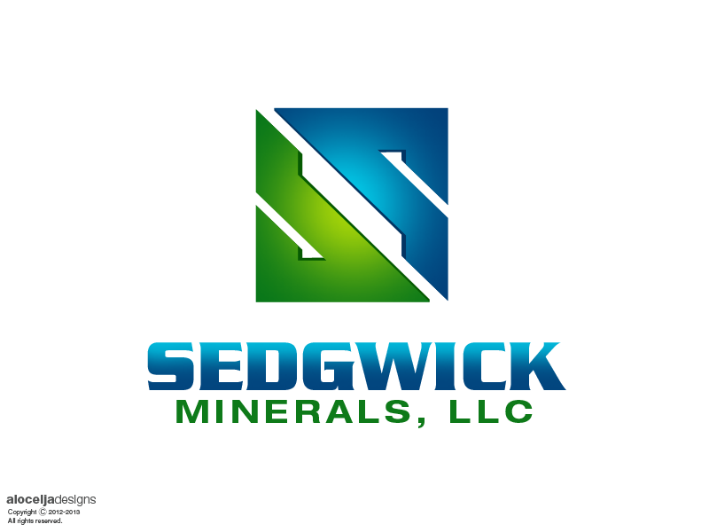 Logo Design by alocelja - Entry No. 29 in the Logo Design Contest Inspiring Logo Design for Sedgwick Minerals, LLC.