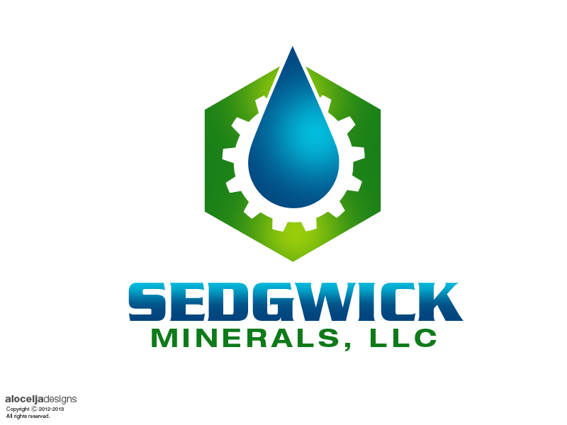 Logo Design by alocelja - Entry No. 30 in the Logo Design Contest Inspiring Logo Design for Sedgwick Minerals, LLC.
