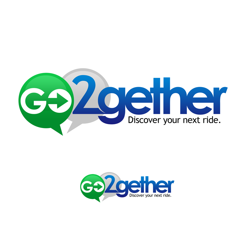 Logo Design by Private User - Entry No. 104 in the Logo Design Contest Captivating Logo Design for GO2GETHER.