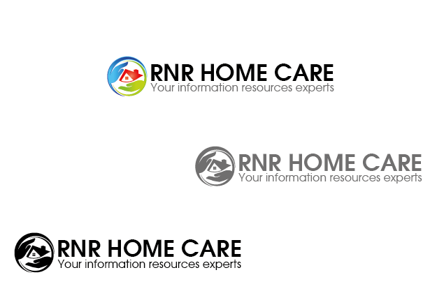 Logo Design by Private User - Entry No. 8 in the Logo Design Contest Imaginative Logo Design for RNR HomeCare.
