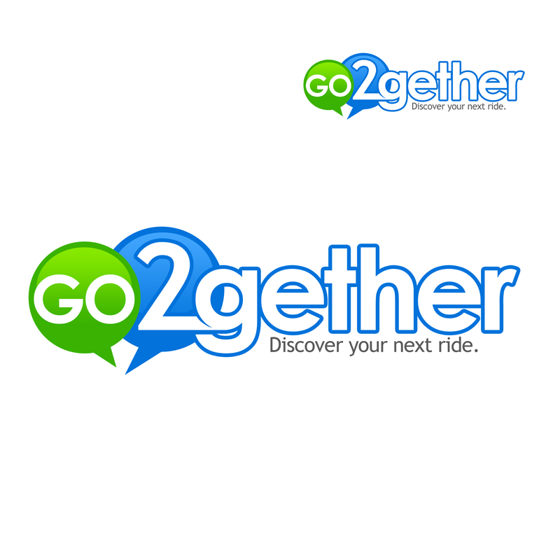 Logo Design by Robert Turla - Entry No. 106 in the Logo Design Contest Captivating Logo Design for GO2GETHER.