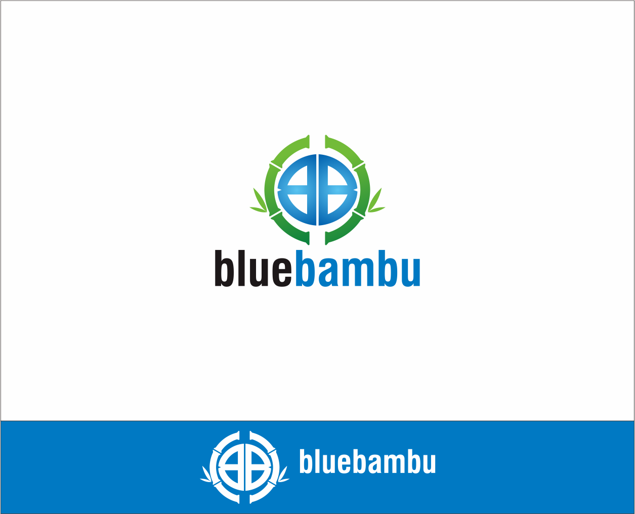 Logo Design by Armada Jamaluddin - Entry No. 91 in the Logo Design Contest New Logo Design for blubambu.