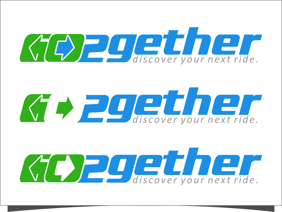 Logo Design by RasYa Muhammad Athaya - Entry No. 110 in the Logo Design Contest Captivating Logo Design for GO2GETHER.