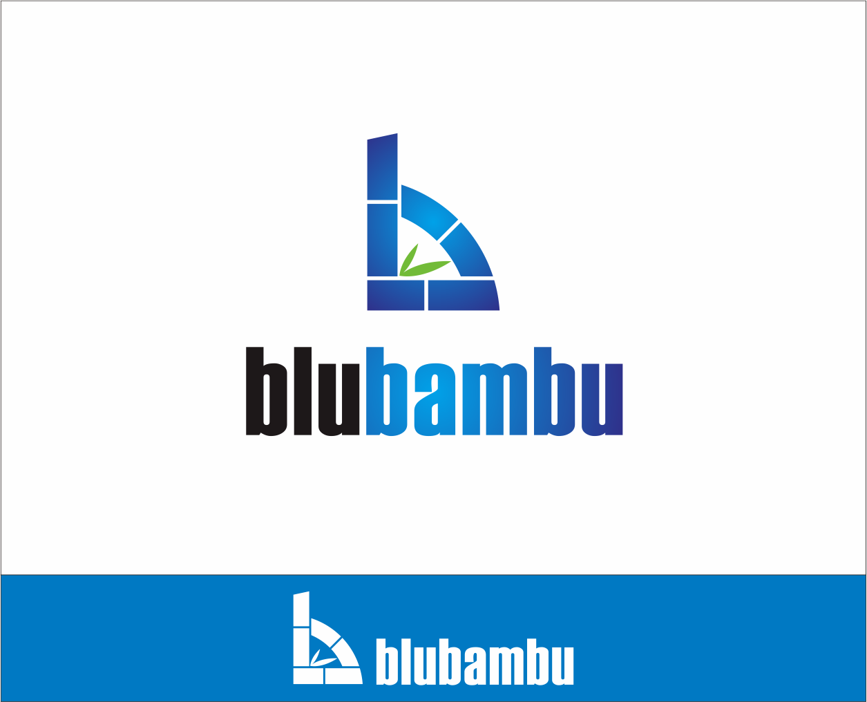 Logo Design by Armada Jamaluddin - Entry No. 92 in the Logo Design Contest New Logo Design for blubambu.