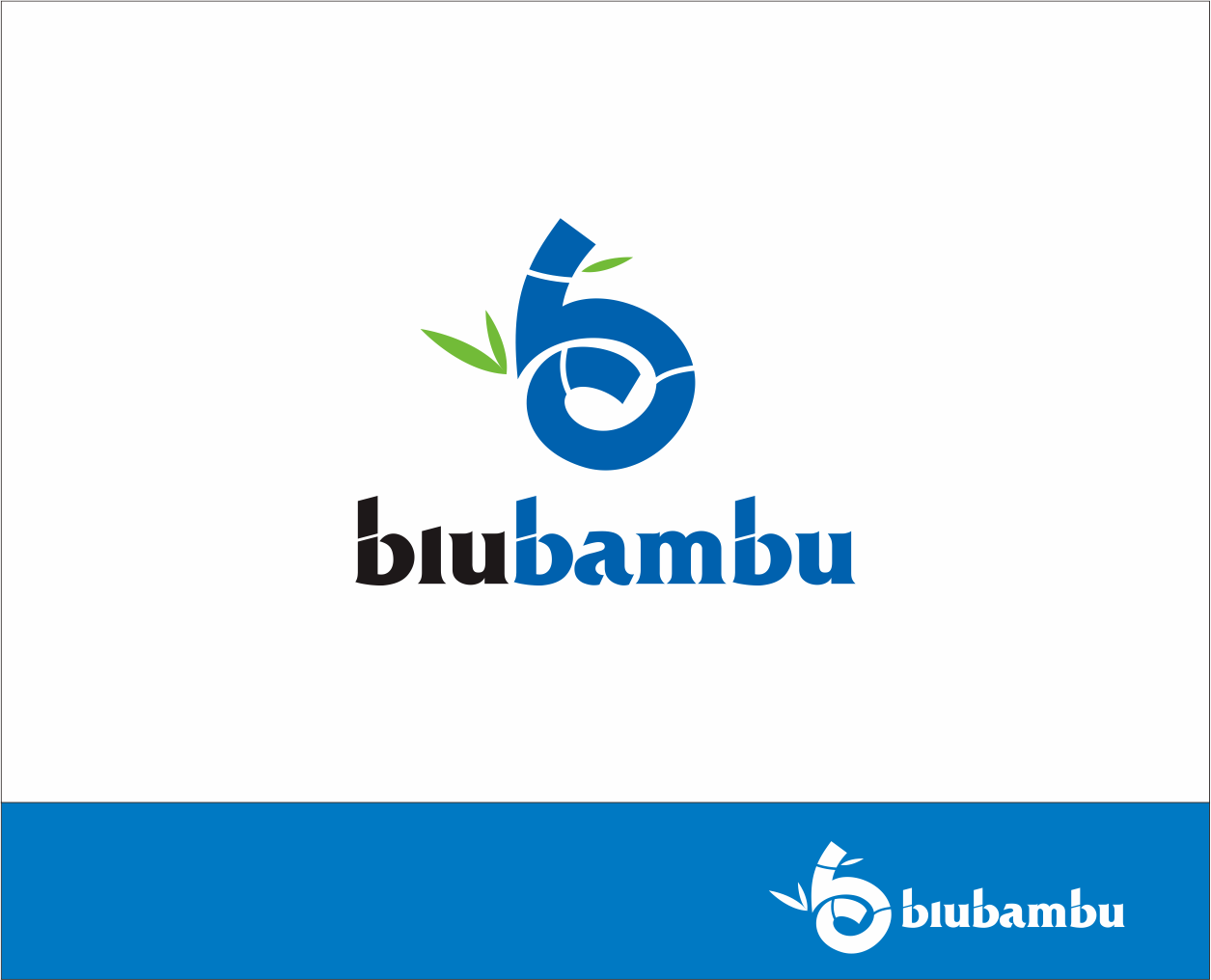 Logo Design by Armada Jamaluddin - Entry No. 95 in the Logo Design Contest New Logo Design for blubambu.
