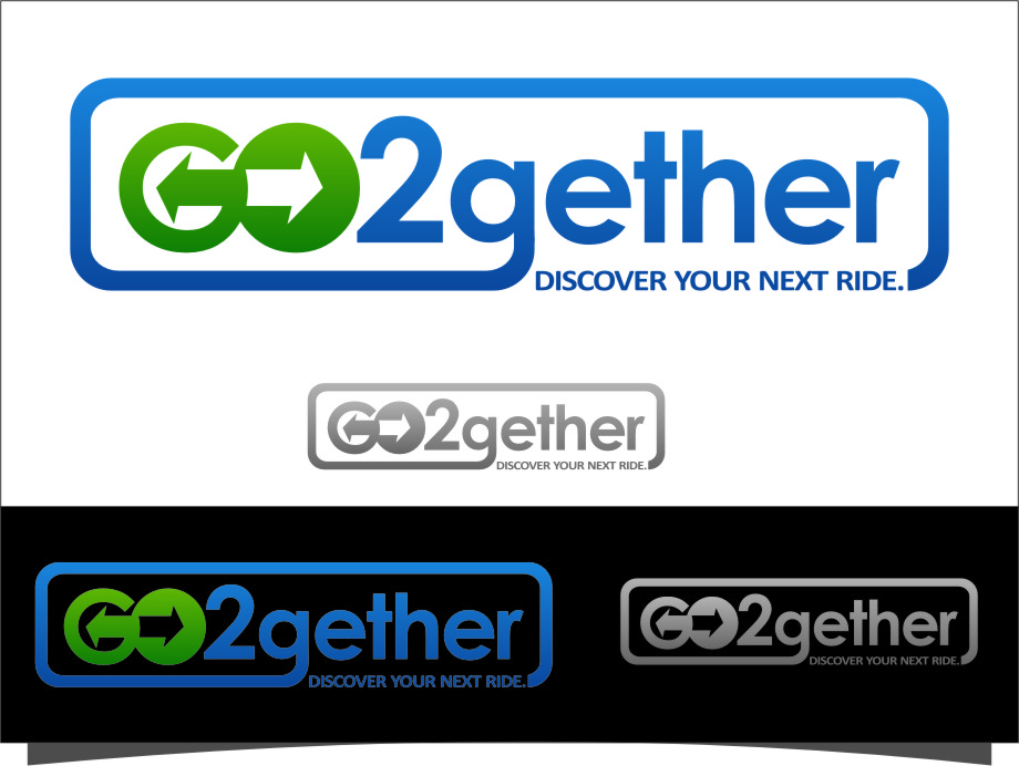 Logo Design by Ngepet_art - Entry No. 117 in the Logo Design Contest Captivating Logo Design for GO2GETHER.