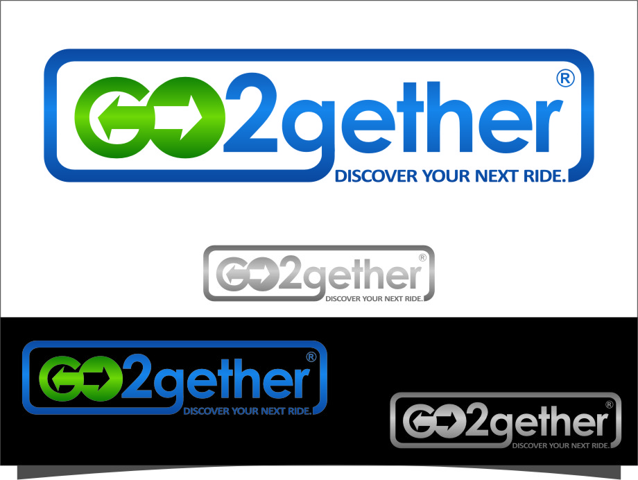 Logo Design by RasYa Muhammad Athaya - Entry No. 120 in the Logo Design Contest Captivating Logo Design for GO2GETHER.
