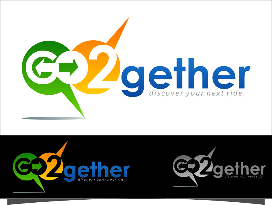 Logo Design by Ngepet_art - Entry No. 126 in the Logo Design Contest Captivating Logo Design for GO2GETHER.