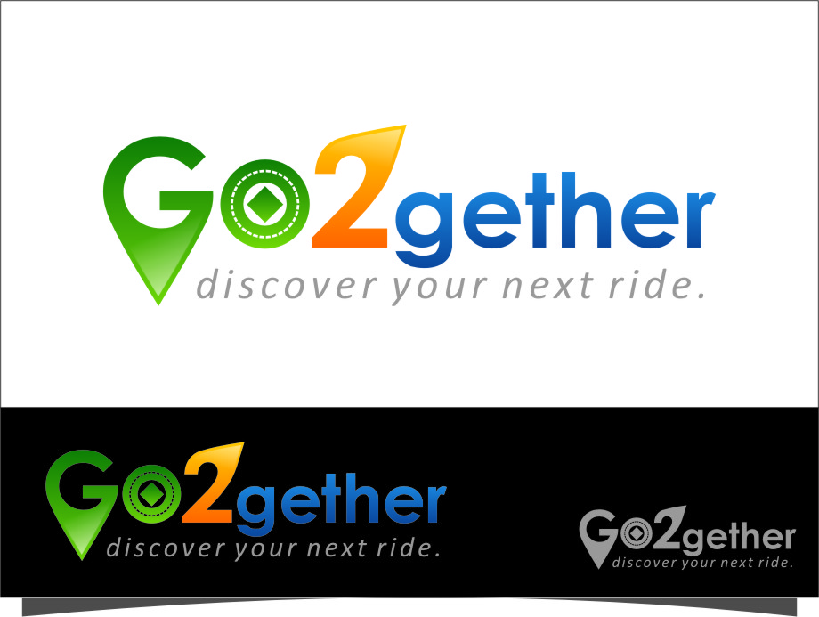 Logo Design by RasYa Muhammad Athaya - Entry No. 127 in the Logo Design Contest Captivating Logo Design for GO2GETHER.