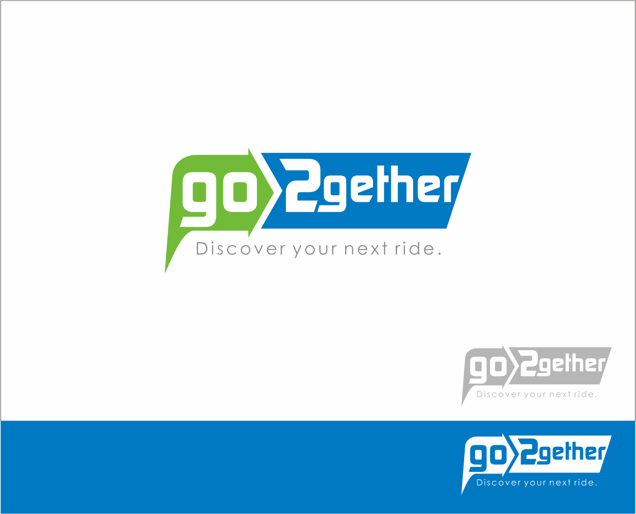 Logo Design by Armada Jamaluddin - Entry No. 128 in the Logo Design Contest Captivating Logo Design for GO2GETHER.