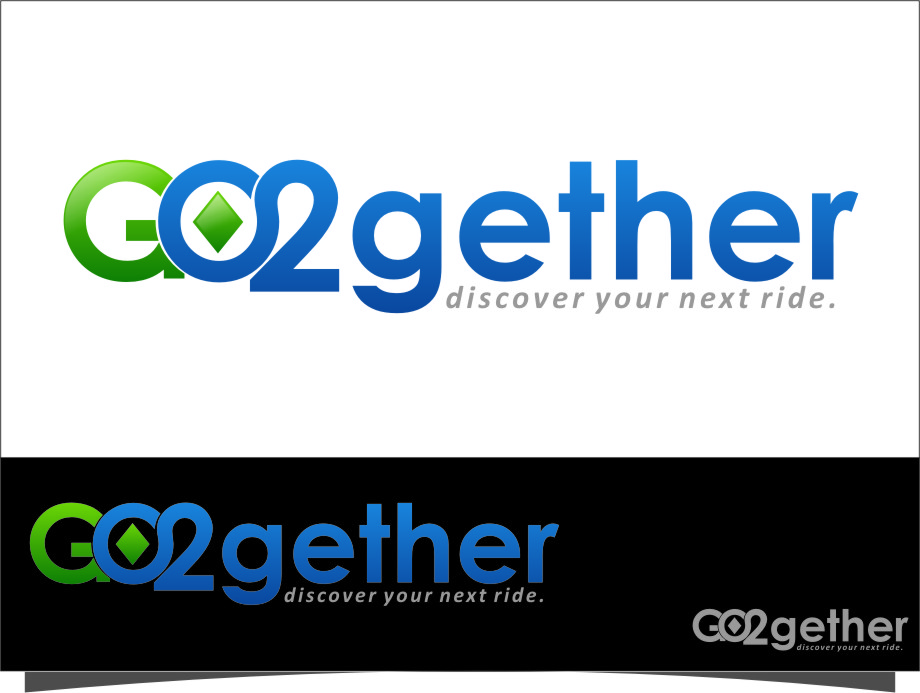 Logo Design by RasYa Muhammad Athaya - Entry No. 129 in the Logo Design Contest Captivating Logo Design for GO2GETHER.