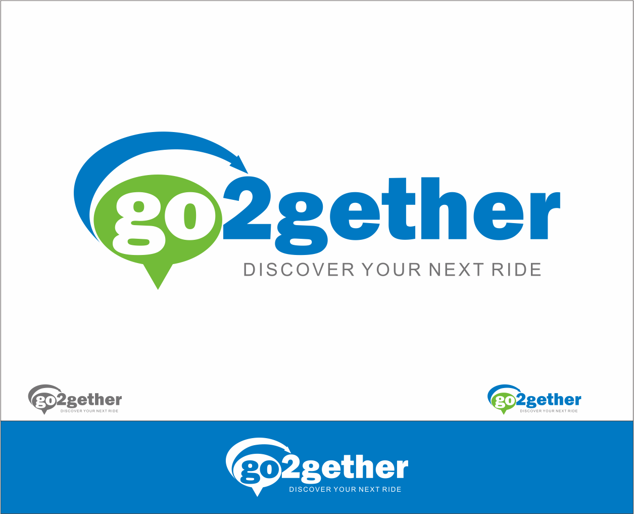 Logo Design by Armada Jamaluddin - Entry No. 131 in the Logo Design Contest Captivating Logo Design for GO2GETHER.