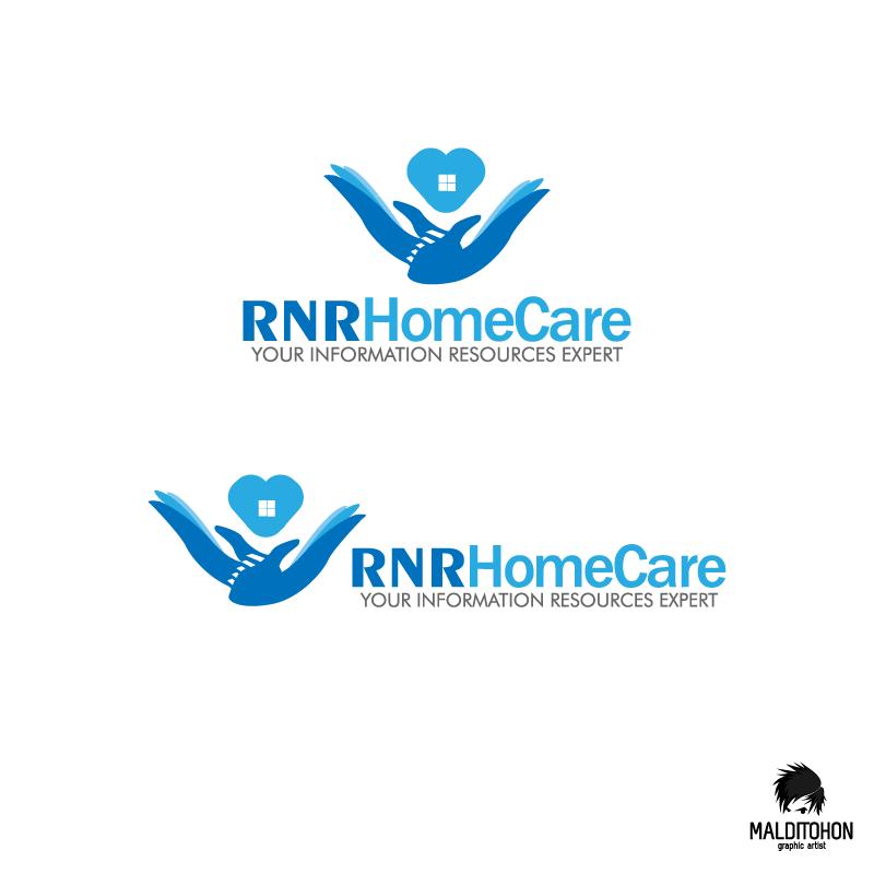 Logo Design by zesthar - Entry No. 16 in the Logo Design Contest Imaginative Logo Design for RNR HomeCare.