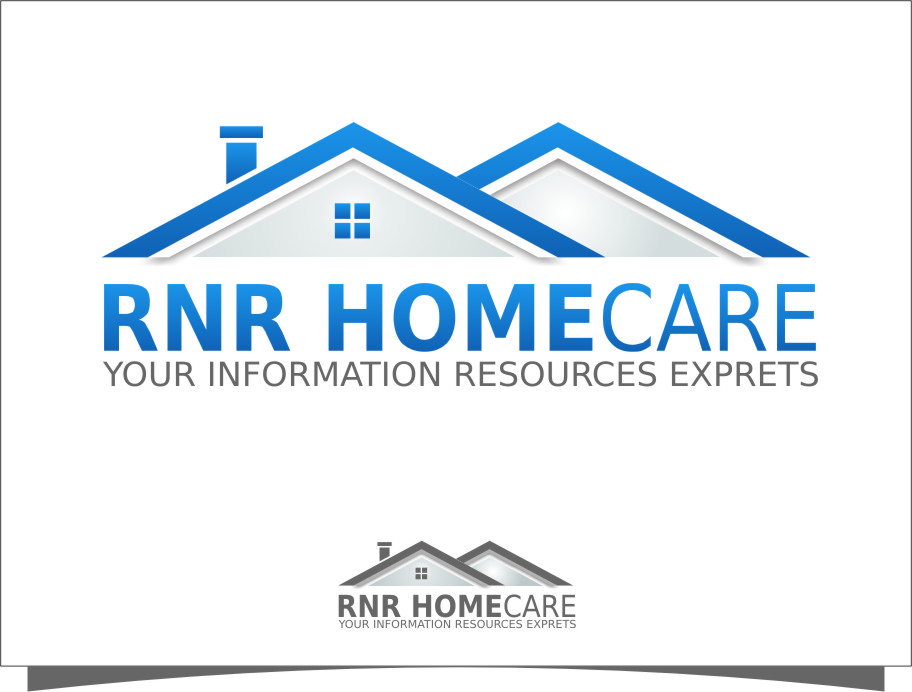 Logo Design by Ngepet_art - Entry No. 17 in the Logo Design Contest Imaginative Logo Design for RNR HomeCare.