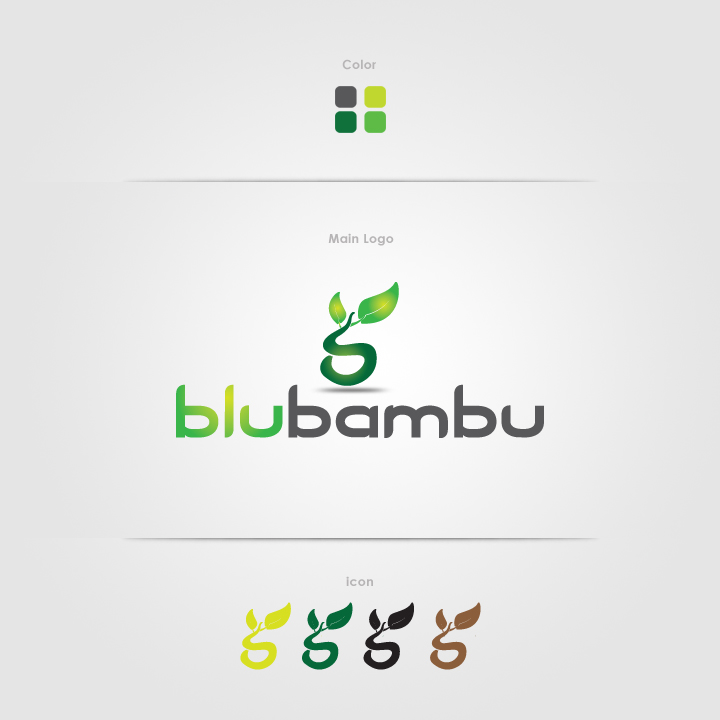 Logo Design by Shujaat Jaffri - Entry No. 106 in the Logo Design Contest New Logo Design for blubambu.