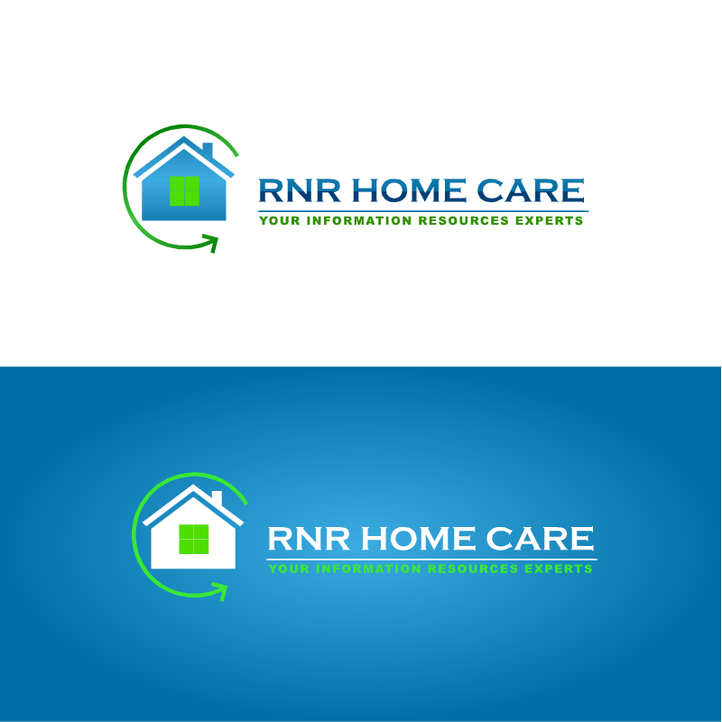 Logo Design by RAJU CHATTERJEE - Entry No. 19 in the Logo Design Contest Imaginative Logo Design for RNR HomeCare.