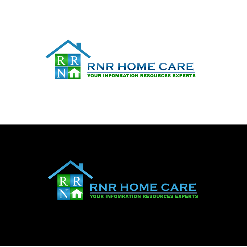 Logo Design by RAJU CHATTERJEE - Entry No. 20 in the Logo Design Contest Imaginative Logo Design for RNR HomeCare.