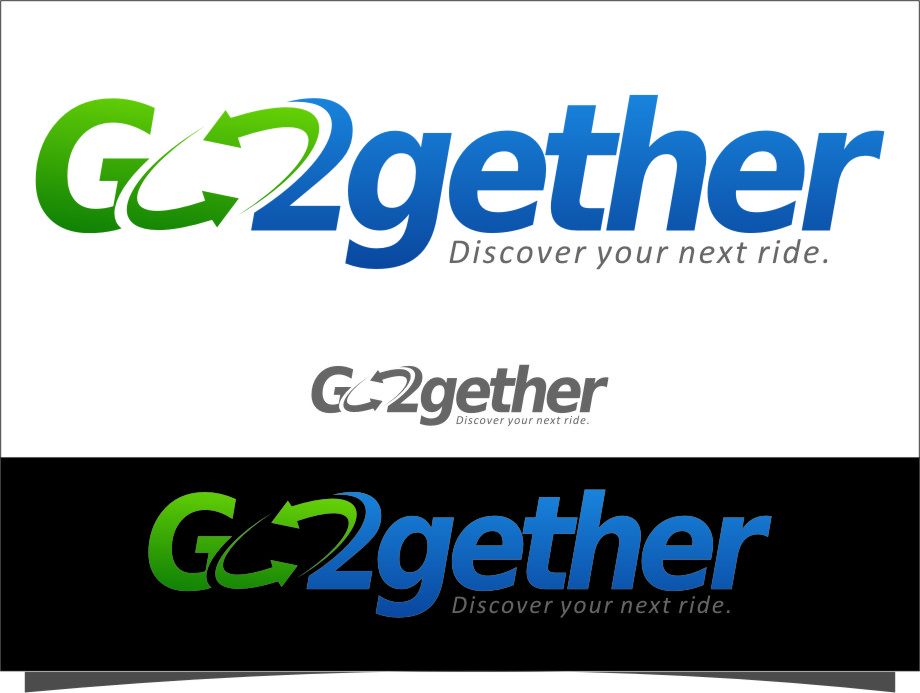 Logo Design by RoSyid Rono-Rene On Java - Entry No. 150 in the Logo Design Contest Captivating Logo Design for GO2GETHER.