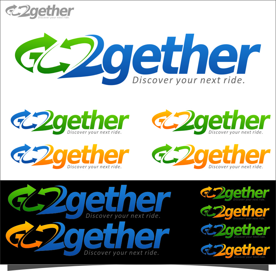 Logo Design by Ngepet_art - Entry No. 162 in the Logo Design Contest Captivating Logo Design for GO2GETHER.