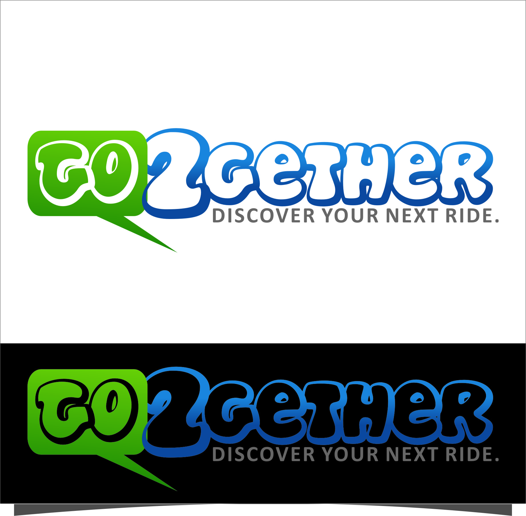 Logo Design by RasYa Muhammad Athaya - Entry No. 175 in the Logo Design Contest Captivating Logo Design for GO2GETHER.